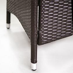 polyrattan essgruppe palermo jet line gartenmoebel polyrattan und holz m bel von jet line. Black Bedroom Furniture Sets. Home Design Ideas