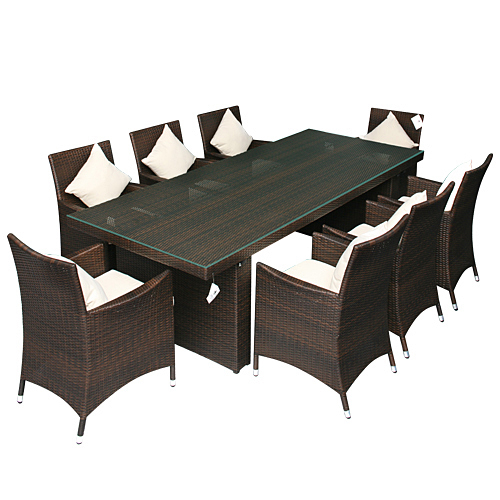 polyrattan essgruppe palermo jet line gartenmoebel. Black Bedroom Furniture Sets. Home Design Ideas