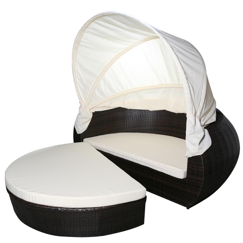 gartenmobel polyrattan sonneninsel, sonneninsel, liege, gartenmöbel, insel, jet-line - gartenmoebel, Design ideen