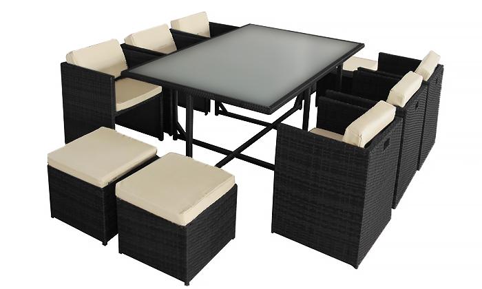 gartenm bel rattan essgruppe von jet line jet line gartenmoebel polyrattan und holz m bel. Black Bedroom Furniture Sets. Home Design Ideas