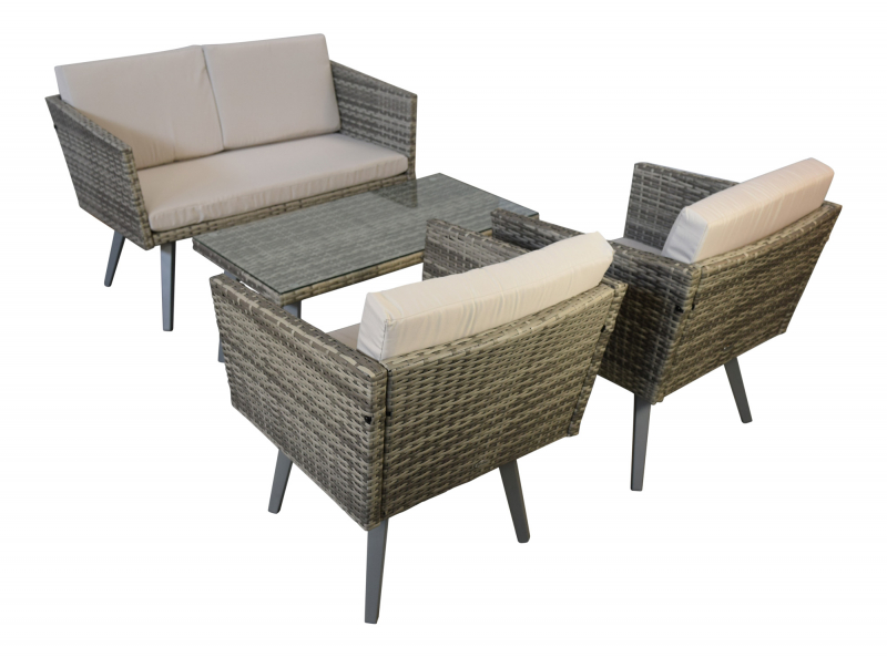 garten m bel lounge design cassis g nstig gartenmoebel polyrattan und holz m bel von jet line. Black Bedroom Furniture Sets. Home Design Ideas