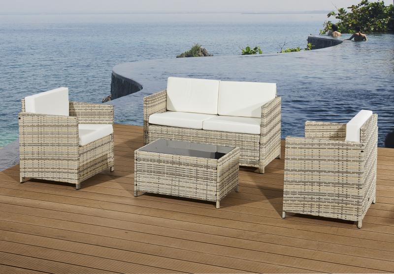 Gartenmöbel Set Holz Lounge ~ Garten möbel neu kaufen gartenmoebel polyrattan und holz