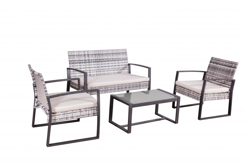 garten moebel von jet line gartenmoebel polyrattan und. Black Bedroom Furniture Sets. Home Design Ideas