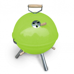 Mini BBQ grill in green