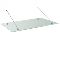 Glass roof 1,6 m