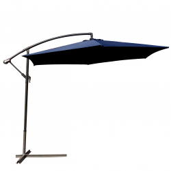 Hanging Sunshade 'Pamplona', navy