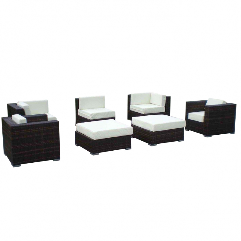 gartenm bel lounge gruppe st tropez jet line. Black Bedroom Furniture Sets. Home Design Ideas