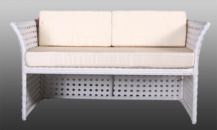 gartenm bel polyrattan in weiss jet line gartenmoebel polyrattan und holz m bel. Black Bedroom Furniture Sets. Home Design Ideas