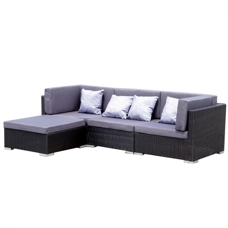 garten lounge gruppe bergen jet line gartenmoebel polyrattan und holz m bel. Black Bedroom Furniture Sets. Home Design Ideas
