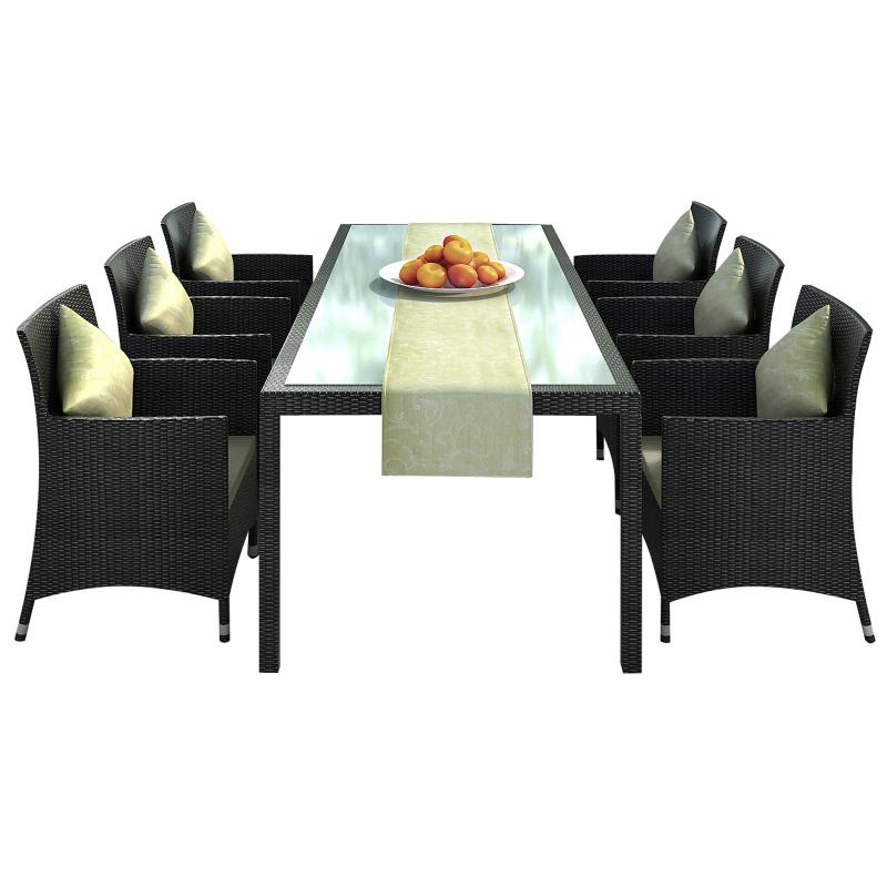 gartenmobel polyrattan nizza interessante. Black Bedroom Furniture Sets. Home Design Ideas