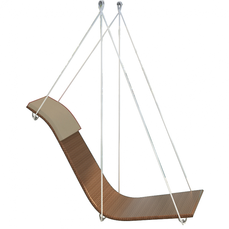 liege gartenm bel rattan schwingsessel relaxsessel jet line gartenmoebel polyrattan und holz. Black Bedroom Furniture Sets. Home Design Ideas