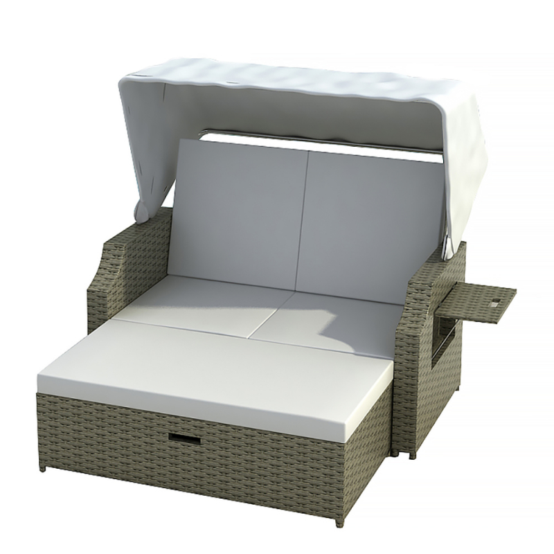 gartenm bel liege sonneninsel strandkorb jet line gartenmoebel polyrattan und holz m bel. Black Bedroom Furniture Sets. Home Design Ideas