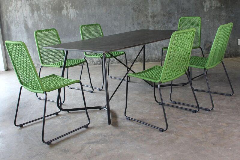 gartenm bel garten moebel dining set essgruppe jet line gartenmoebel polyrattan und holz. Black Bedroom Furniture Sets. Home Design Ideas