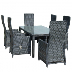 Garden furniture Barbados in anthracite