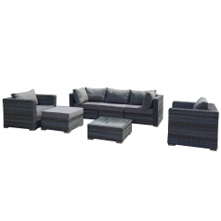 Garden furniture lounge set