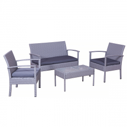 gartenm bel lounge polyrattan jet line garten jet line gartenmoebel polyrattan und holz. Black Bedroom Furniture Sets. Home Design Ideas