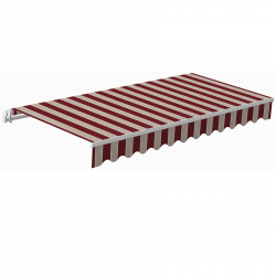 Awning Sunpower  5 x 3 m bordeaux/brown II